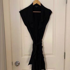 Black Club Monaco vest